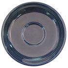 CAC TG-2-CBU Tango 6 inch Cobalt Blue Round Saucer - 36/Case