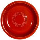 CAC TG-B7-R Tango 20 oz. Red Round Nappie Bowl - 24/Case
