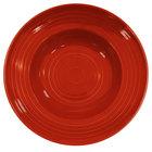 CAC TG-3-R Tango 9 oz. Red Pasta Bowl - 24/Case