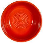 CAC TG-15-R Tango 12.5 oz. Red Pasta/Salad Bowl - 36/Case