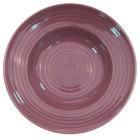 CAC TG-3-PLM Tango 9 oz. Plum Pasta Bowl - 24/Case
