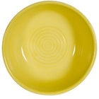 CAC TG-18-SFL Tango 15 oz. Sunflower Pasta/Salad Bowl - 36/Case