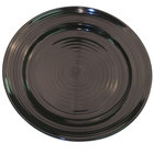 CAC TG-16-BLK Tango 10 1/2 inch Black Round Plate - 12/Case
