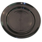 CAC TG-6-BLK Tango 6 1/2 inch Black Round Plate - 36/Case