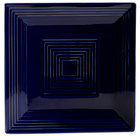 CAC TG-SQ16-CBU Tango 10 inch Cobalt Blue Square Plate - 12/Case