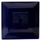 CAC TG-SQ8-CBU Tango 8 inch Cobalt Blue Square Plate - 24/Case