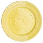 CAC TG-7-SFL Tango 7 1/2 inch Sunflower Round Plate - 36/Case