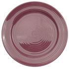 CAC TG-7-PLM Tango 7 1/2 inch Plum Round Plate - 36/Case