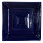 CAC TG-B8-CBU Tango 1.3 Qt. Cobalt Blue Square Bowl - 24/Case