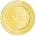 CAC TG-6-SFL Tango 6 1/2 inch Sunflower Round Plate - 36/Case