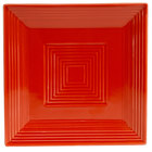 CAC TG-SQ8-R Tango 8 inch Red Square Plate - 24/Case