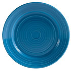CAC TG-8-PCK Tango 9 inch Peacock Round Plate - 24/Case