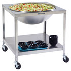 Lakeside 713 Stainless Steel Mobile Mixing Bowl Stand for 80 Qt. Bowl