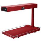 Hatco GRFFB Glo-Ray Red 12 3/4 inch x 24 inch Portable Food Warmer with Heated Base - 120V, 750W