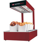 Hatco UGFFL Ultra-Glo Red Portable Food Warmer with Lights - 120V, 870W