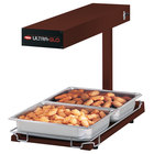 Hatco UGFFB Ultra-Glo Copper Portable Food Warmer with Base Heat - 120V, 1000W