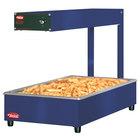 Hatco GRFFI Glo-Ray Brilliant Blue 12 3/8 inch x 24 inch Portable Food Warmer with Infinite Controls - 120V, 500W