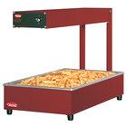 Hatco GRFFI Glo-Ray Red 12 3/8 inch x 24 inch Portable Food Warmer with Infinite Controls - 120V, 500W