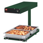 Hatco GRFFBL Glo-Ray Green 12 3/4 inch x 24 inch Portable Food Warmer with Heated Base and Overhead Light - 120V, 870W