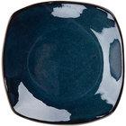 Tuxton GAN-503 Artisan Night Sky 21 oz. 10 1/2 inch Coupe Square China Pasta Plate - 12/Case