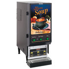 Bunn SET00.0199 FMDS-3 Fresh Mix Soup Dispenser with 3 Hoppers - 120V