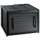 Excalibur 3926TCDB Black Nine Rack Food Dehydrator with Clear Door and Timer - 600W