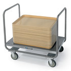 Lakeside 217 Stainless Steel Dual Handle Platform Truck - 34 3/4 inch x 22 1/2 inch x 32 1/4 inch