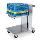 Lakeside 818 Stainless Steel Mobile Cantilever Tray Dispenser for 14