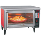 Hatco TFW-461R Thermo-Finisher Warm Red Wide Mouth Food Finisher with Four Top Elements - 208V, 3 Phase