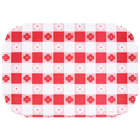 Red Gingham Round