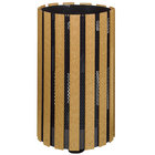 Rubbermaid FGH12SM Towne Series Cedar Post-Mount with Drain Holes and Surface Post 34 Gallon (FGH12SMC)