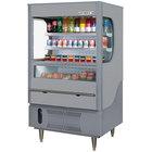 Beverage-Air VM7-1-G VueMax 35 inch Gray Air Curtain Merchandiser