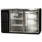 "Continental Refrigerator BBC50-GD 50"" Glass Door Back Bar Refrigerator"