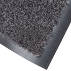 Cactus Mat 1437M-L46 Catalina Standard-Duty 4' x 6' Charcoal Olefin Carpet Entrance Floor Mat - 5/16