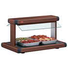 Hatco GR2BW-36 36 inch Glo-Ray Antique Copper Designer Buffet Warmer with Antique Copper Insets - 120/208V, 1470W