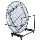 National Public Seating DY-71R Round Folding Table Dolly