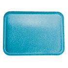 Carlisle 2216FGQ013 Customizable 16 inch x 22 inch Glasteel Ice Blue Fiberglass Tray - 6/Case