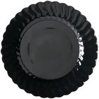 Fineline Flairware 210-BK 10 1/4 inch Black Plastic Plate - 144 / Case