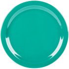 Carlisle 4350009 Dallas Ware 10 1/4 inch Meadow Green Melamine Plate - 48 / Case