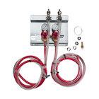 Micro Matic 83215 Double Gauge (60 PSI) Secondary CO2 Regulator Panel Kit