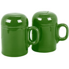 Homer Laughlin 756324 Fiesta Shamrock Rangetop Salt and Pepper Shaker Set - 4 Sets / Case