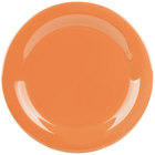 GET NP-9-PK Pumpkin Diamond Harvest 9 inch Rolled Edge Plate - 24/Case