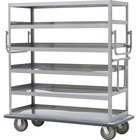 Metro MQ-512L Queen Mary Banquet Service Cart with 5 Ledged Shelves