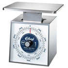 Edlund MSR-1000 OP 1000 g Stainless Steel Metric Portion Scale with Oversized 7 inch x 8 3/4 inch Platform