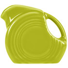 Homer Laughlin 475332 Fiesta Lemongrass 5 oz. Mini Disc China Creamer Pitcher - 4/Case