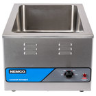 Nemco 6055A-CW 12 inch x 20 inch Countertop Food Cooker / Warmer - 120V, 1500W