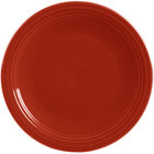 Homer Laughlin 467326 Fiesta Scarlet 11 3/4 inch China Round Chop Plate - 4/Case