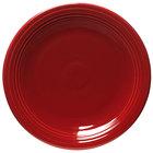 Homer Laughlin 467326 Fiesta Scarlet 11 3/4 inch Chop Plate - 4 / Case
