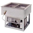 Wells HRCP7200SLST Drop In Slim Line Cold / Hot Two Pan Slope Top Dual Temp Food Well