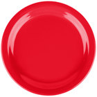 Carlisle 4385205 Red Dayton 9 inch Melamine Plate - 48/Case